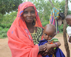 Woman with baby_Ghana 21